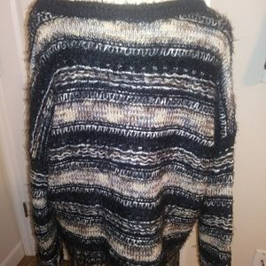 Altar'd State Sweaters - Altar'd State big fuzzy fringed boho sweated